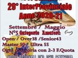 29° Campionato InterProvinciale Libertas Calcio A11 – Anno 2020 – 2021   Inizio  Settembre 2020, termine maggio 2021.