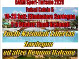 """""""  3° Trofeo Nazionale Libertas Sardegna  CAAM Sport-Turismo 2020 """" Futsal Calcio 5"""