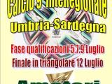 CALCIO A9 FASE INTEREGIONALE SARDEGNA – UMBRIA  CATEGORIA OPEN  DAL 5 AL 12 LUGLIO 2021