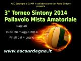 """Terza edizione del """"Torneo Sintony"""" di pallavolo mista amatoriale a Cagliari: scadenza iscrizione 29 maggio 2014"""