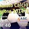 Aperte le iscrizioni per il Campionato di Calcio a 7 ASC-Caam 2014-15