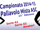 Pallavolo Mista, Campionato 2014-15 con una  Nuova serie!