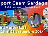 Caam Sardegna, trofei Regionali e Nazionali degli Sport ASC Sardegna