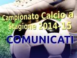 Comunicato Ufficiale Numero 14 Calcio a 7 Cagliari 2014-15