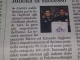 Articolo di stampa, L'unione Sarda del 12 dicembre 2014, cronaca di Nuoro.