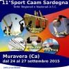 Sport Caam Sardegna nel Week End del 25-27 settembre 2015
