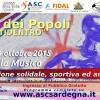 """4^ Edizione """"Corsa dei Popoli – Tuttidentro"""" Domenica 4 ottobre 2015, Cagliari"""