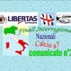 Comunicato Ufficiale nr. 3 Finali InterRegionali calcio a7 anno 2017