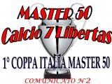 Comunicato Ufficiale nr. 2 Coppa Italia MASTER Calcio a7 Cagliari 2017-18