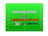 Comunicato Ufficiale nr. 6 Campionato Provinciale Calcio a 11 Cagliari 2017-18