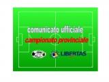 Comunicato Campionato Provinciale Calcio a 11 Cagliari 2017-18