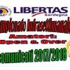 Comunicati campionato infrasettimanale 2017/2018