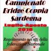 """GIOCHI DI CARTE """"BRIDGE IN COPPIA"""" SARDEGNA"""