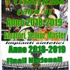 9^ COPPA ITALIA CALCIO A11 stagione 2018/2019 amatori / senior – master