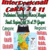 Finali Nazionali InterRegionale calcio a11 e a7 dal 26 al 29 Giugno, preliminari da Marzo 2019