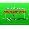 PUBBLICAZIONE COMUNICATO SINTONY 2019 N°2