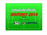 PUBBLICAZIONE ULTIMO COMUNICATO N°14 SINTONY 2019