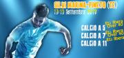 CAMPIONATO NAZIONALE  CALCIO  A 5 –  A7 – A 11 12 o 13-15 SETTEMBRE 2019 SILVI MARINA (TE) – PINETO (TE)