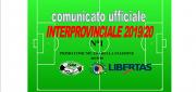 PUBBLICAZIONE COMUNICATO N°1 CAMPIONATO INTERPROVINCIALE 2019/2020