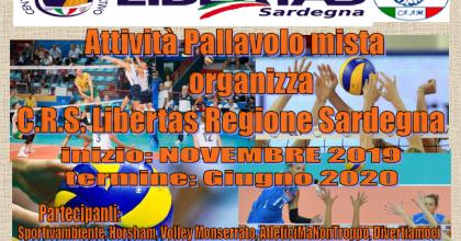 ATTIVITA' PALLAVOLO Libertas Sardegna 2019-20