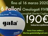 Offerta Gala per Libertas Cagliari sui palloni da Volley!