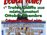 Beach Volley: in partenza il 1° Trofeo Califfo!