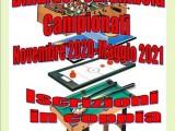 BILIARDO – CARAMBOLA: Campionati 2020-21!
