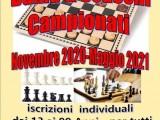 DAMA e SCACCHI: Campionati 2020-21