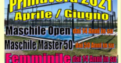 PADEL (o Paddle): Trofeo Primavera 2021!