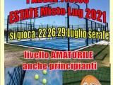 PADEL Trofeo Estate Misto Luglio 2021