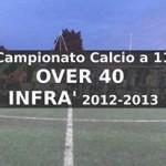 Calcio a 11 Over 40 infrasettimanale Campionato 2012-13
