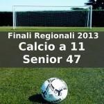 Calcio a 11 Senior 47 Finali Regionali Coppa Sardegna 2013