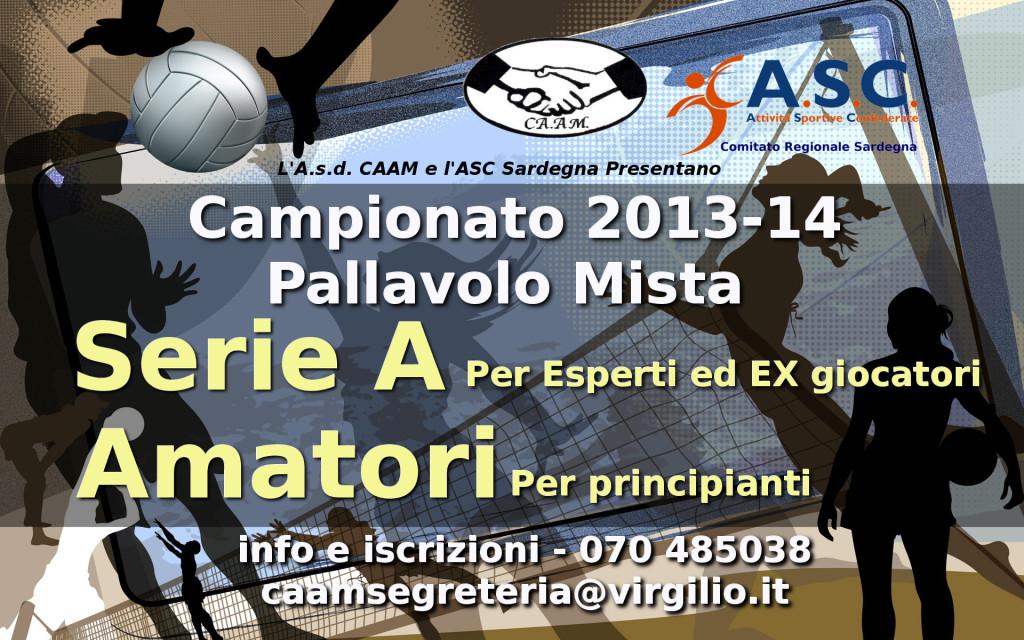 Campionati Pallavolo Mista 2013-14