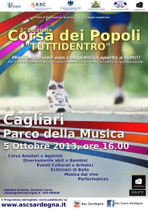 Locandina Corsa dei Popoli 2013 - 3