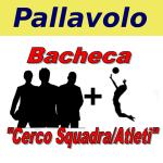 logo Bacheca cerco squadra atleti Pallavolo