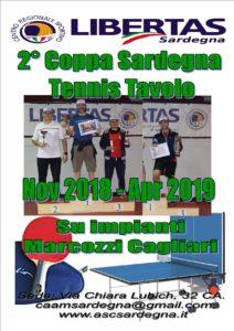 TENNISTAVOLO 2018-19 Coppa SARDEGNA 2° EDIZIONE @ CAGLIARI PALESTRA MARCOZZI | Cagliari | Sardegna | Italia
