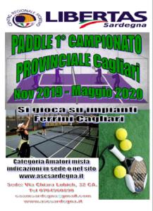PADDLE 1° CAMPIONATO LIBERTAS 2019-2020 @ CAGLIARI