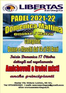 PADEL DOMENICA 2021 - 2022 LIBERTAS @ CAGLIARI