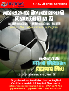 Torneo CALCIO A 7 Atonzu 2019