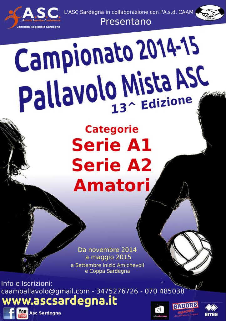 Locandina Campionato 2014-15