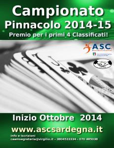 Pinnacolo 2014-15
