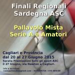 Finali Coppa Sardegna 20-27 giugno 2015