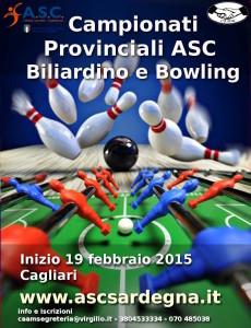 Locandina Camp Biliardino Bowling