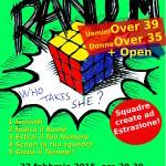 Random open e Over Febbraio 2015 locand