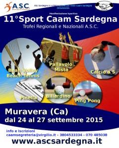 Locandina Sport Caam Sardegna 4 mori 2015