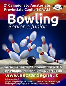 Locandina Bowling 2015-16