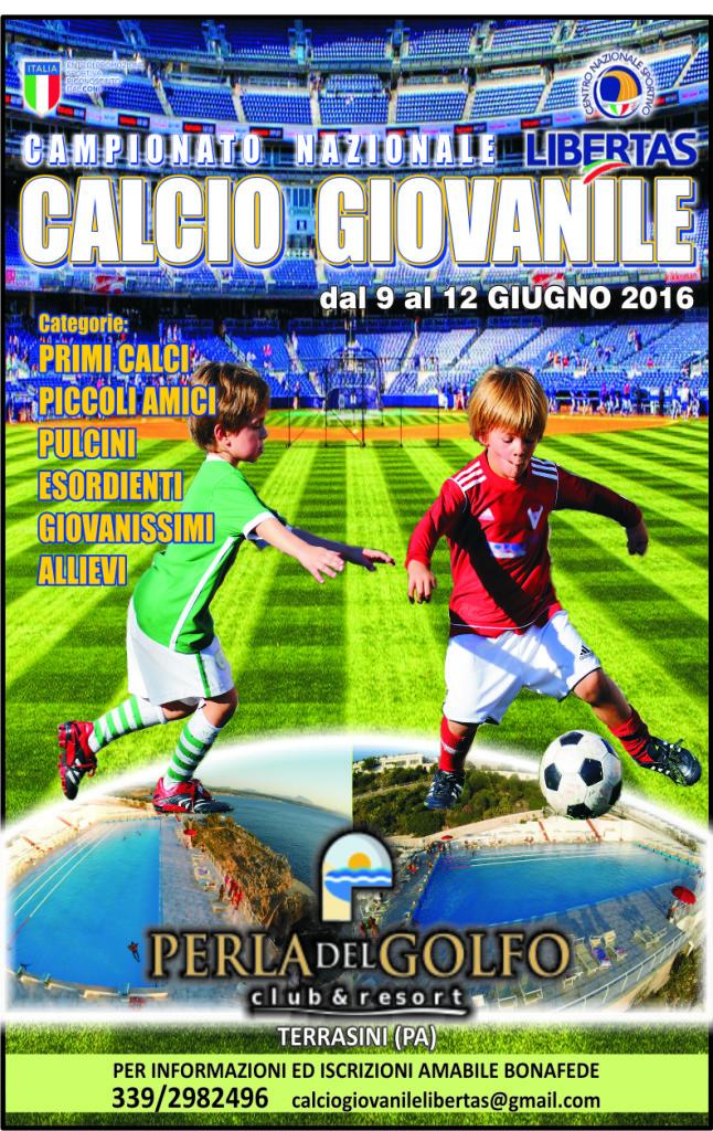 CALCIO GIOVANILE 2016 LOCANDINA