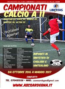 Campionato CALCIO A 11 stagione 2016-17 Provinciale di Cagliari 24° Edizione @ Cagliari e Hinterland