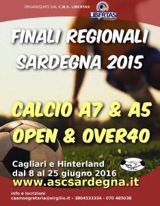 Calcio a 7 giugno 2016 - Locandina