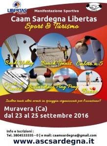 Sport Caam Sardegna Muravera 2016 @ Camping 4 Mori, Muravera, Cagliari